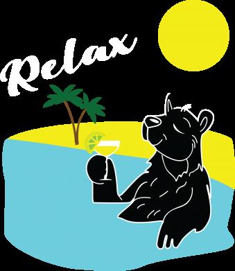Print Sweatshirt Sea holiday - PrintSalon
