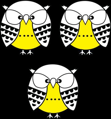 Print Bokserki męskie Sowy - PrintSalon