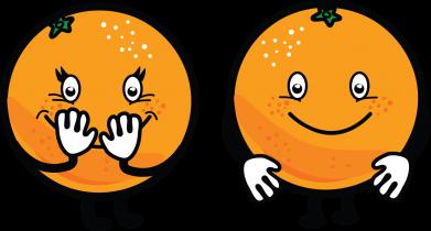 Print Etui na iPhone XR Wesołe pomarańcze - PrintSalon