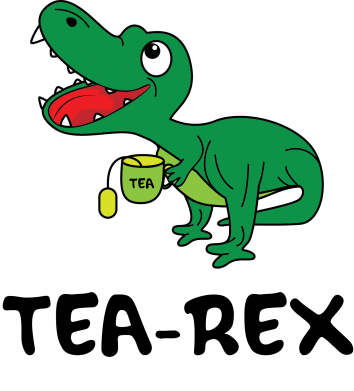 Print Etui na iPhone 11 Mały dinozaur z herbatą - PrintSalon