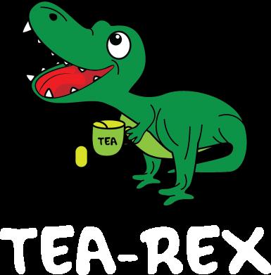Print Etui na Xiaomi Redmi 7 Mały dinozaur z herbatą - PrintSalon