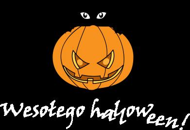 Print Notes Napis: Wesołego Halloween - PrintSalon