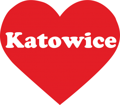 Print Women's hoodies Katowice in heart - PrintSalon