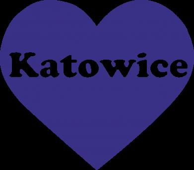 Print Mug 330ml Katowice in heart - PrintSalon