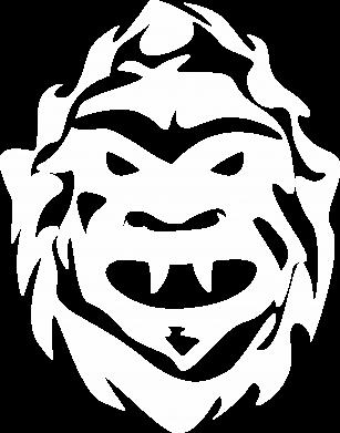 Print Damska koszulka polo Morda potwora - PrintSalon