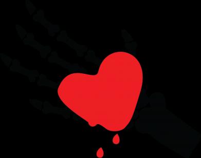 Print Etui na iPhone 11 Topniejące serce - PrintSalon
