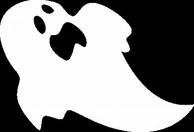 Print Notes Scared ghost - PrintSalon