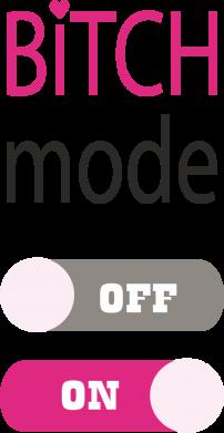 Print Etui na iPhone 11 Pro Max Bitch mode - PrintSalon