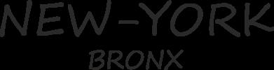 Print Baby bodysuit New-York Bronx - PrintSalon
