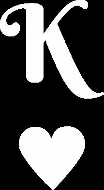 Print Męska bluza z kapturem К - PrintSalon