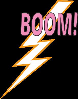 Print Plecak z przednią kieszenią Boom - PrintSalon