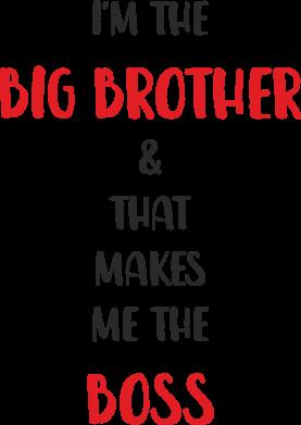 Print Etui na iPhone 11 Pro Max I'm the big brother - PrintSalon