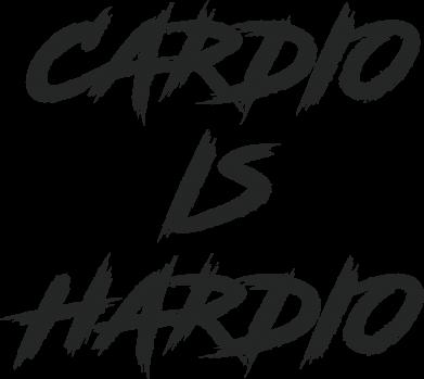 Print Damska koszulka polo Cardio is hardio - PrintSalon