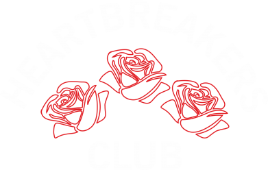 Print Bokserki męskie Heartbreakers club - PrintSalon