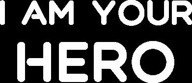 Print Plecak z przednią kieszenią I'm your hero - PrintSalon
