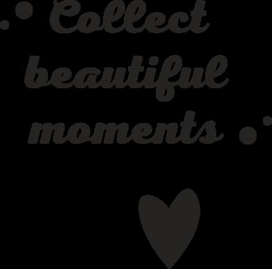 Print Etui na Xiaomi Mi6 Collect beautiful moments - PrintSalon