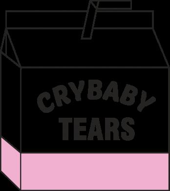 Print Męska bluza z kapturem Cry Baby Tears - PrintSalon
