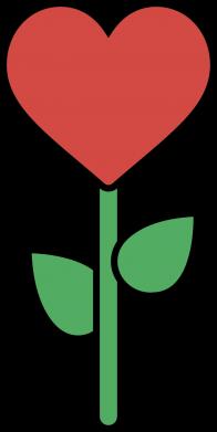 Print Etui na iPhone 11 Pro Max Kwiat - serca - PrintSalon