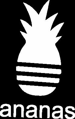 Print Męska bluza z kapturem Ananas - PrintSalon