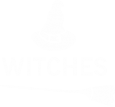 Print Notes Broom and hat Witches - PrintSalon