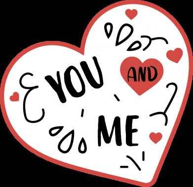 Print Bluza (raglan) You and me - PrintSalon