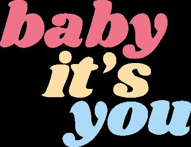 Print Bokserki męskie Baby it's you - PrintSalon
