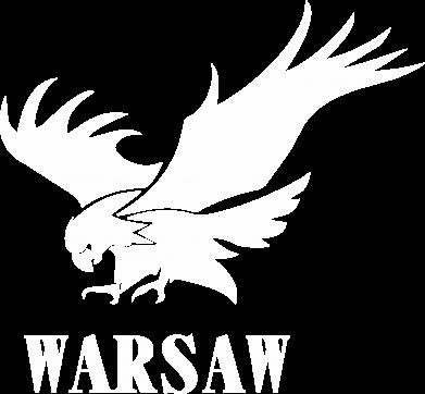 Print Bokserki męskie Warsaw eagle - PrintSalon