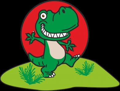Print Męska bluza z kapturem Dino - PrintSalon