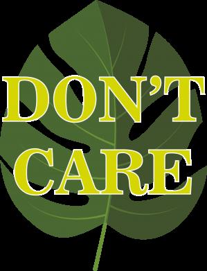 Print Bokserki męskie Don't care leaf - PrintSalon