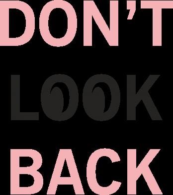 Print Etui na iPhone 11 Pro Max Don't look back - PrintSalon