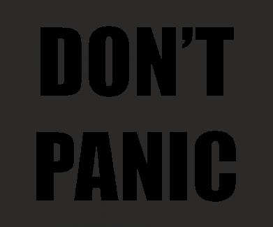 Print Etui na Xiaomi Mi6 Don't panic - PrintSalon