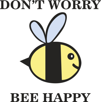 Print Etui na Xiaomi Mi6 Don't worry bee happy - PrintSalon