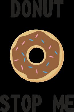 Print Etui na iPhone 11 Pro Max Donut stop me - PrintSalon