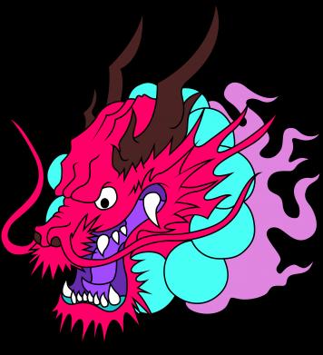 Print Bluza (raglan) Dragon - PrintSalon