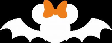 Print Bokserki męskie Bat with orange bow - PrintSalon