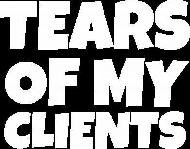 Print Plecak z przednią kieszenią Tears of my clients - PrintSalon