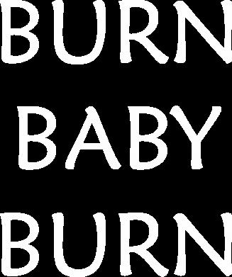 Print Bokserki męskie Burn baby burn - PrintSalon
