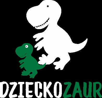 Print Męska bluza z kapturem Syn dinozaur - PrintSalon