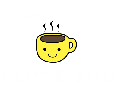 Print Koszulka Polo Espresso. I love you - PrintSalon