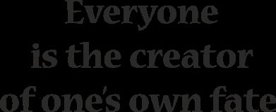 Print Etui na iPhone 11 Pro Max Everyone is the creator of one's own fate - PrintSalon