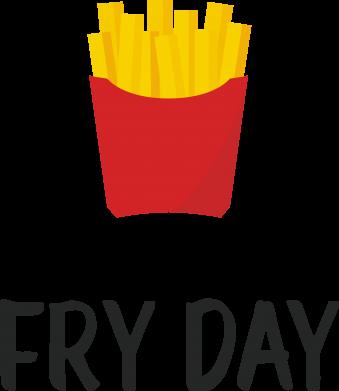 Print Mug 330ml Fry day - PrintSalon