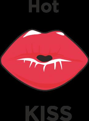 Print Etui na iPhone 11 Pro Max Hot Kiss - PrintSalon