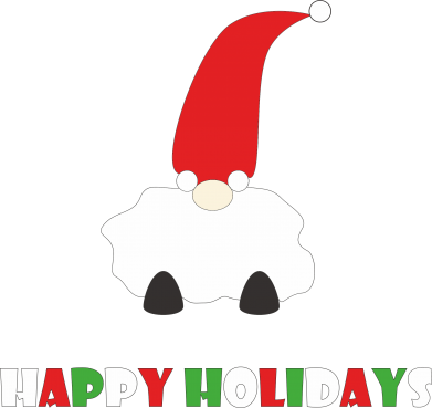 Print Etui na iPhone 11 Happy Holidays Santa - PrintSalon