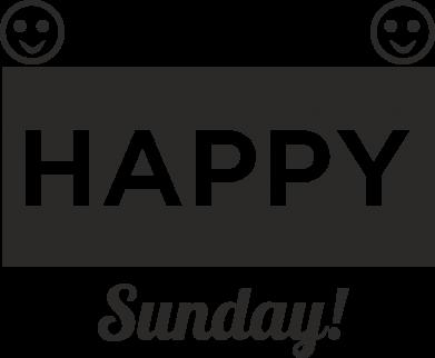 Print Etui na Xiaomi Mi6 Happy Sunday - PrintSalon