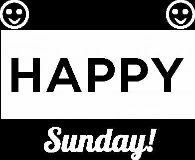 Print Koszulka Polo Happy Sunday - PrintSalon