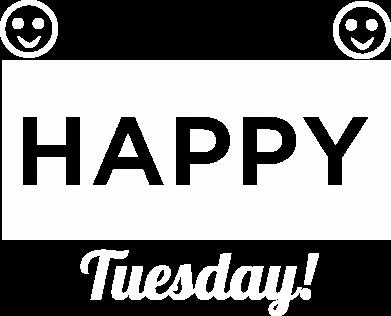 Print Plecak z przednią kieszenią Happy Tuesday - PrintSalon