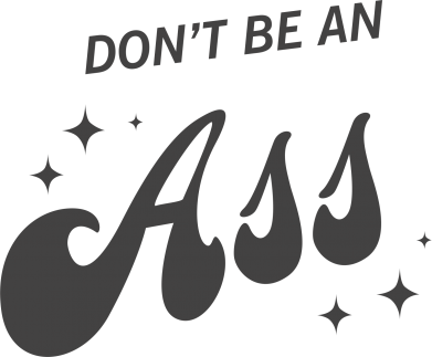 Print Mug 330ml Don't be an ass - PrintSalon