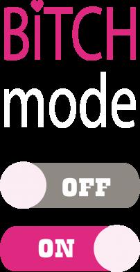 Print Plecak z przednią kieszenią Bitch mode - PrintSalon