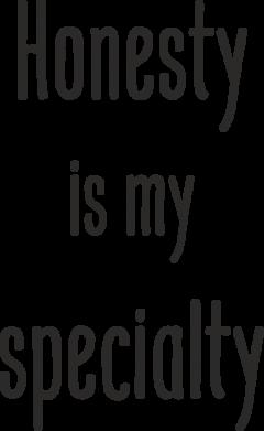 Print Etui na Xiaomi Mi6 Honesty is my specialty - PrintSalon