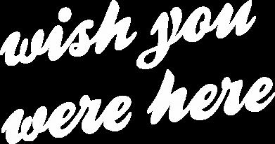 Print Bokserki męskie Wish you were here - PrintSalon